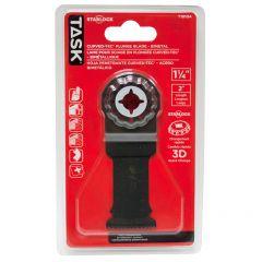 1-1/4 Inch Starlock Bimetal Deep Cut Curved-tec Plunge Blade