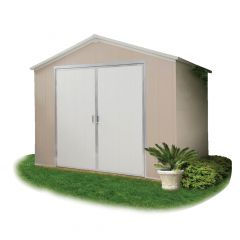 9.5' x 8' Vision Outdoor Vinyl Storage Shed