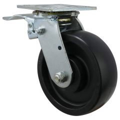 """6"""" Caster For Tool Box Swivel with Back Brake"""