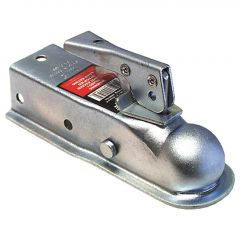 """2"""" Trailer Channel Coupler With 1-7/8"""" Ball Diameter"""