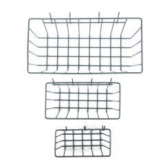Peggable Wire Baskets