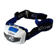 Iglow 1+2 LED Headlight-2/Pack