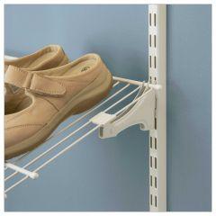 ShelfTrack Shoe Bracket White