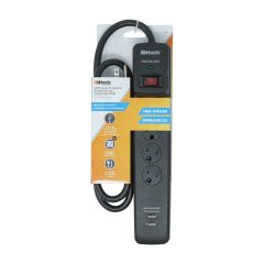 4 Outlet Surge Protector with USB 1180J