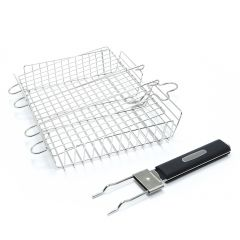Broil King Deluxe Stainless Steel Grill Basket
