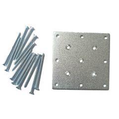 Maple Newel Mounting Plate Kit