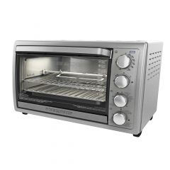 Black + Decker 9 Slice Stainless Steel Rotisserie