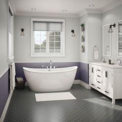 "66""x 36"" Delsia Freestanding Bathtub"