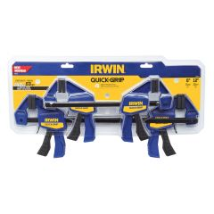 Iwrin Quick Grip One-Handed Mini Bar Clamp-4/Pack