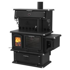 Chief Epa Wood Cookstove With Warming Oven