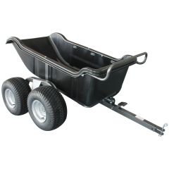 1200 Lb 4 Wheel Poly Dump Cart