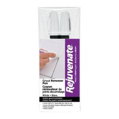 Rejuvenate White Grout Renewer Pens-2/Pack