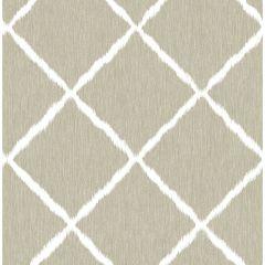 Paste The Wall Wallpaper Ikat Trellis Linen