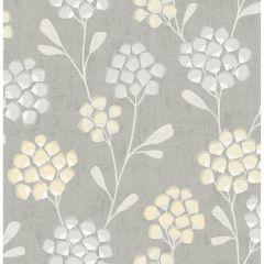 Paste The Wall Wallpaper Scandi Flora Citrine