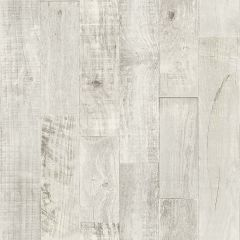 Prepasted Wallpaper Chebacco Grey Whitewashed