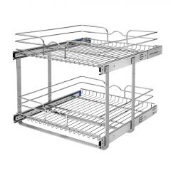 21 Inch Two-tier Pull-Out Baskets Soft Close