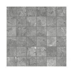 """2"""" x 2"""" Carbon Regency Porcelain Mosaics 11.47 Sq-ft/Box"""