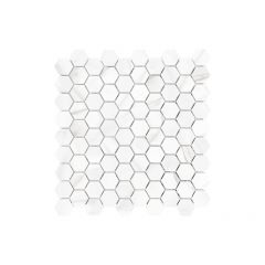 "1.25""x1.25""VolakasGrigio Mayfair Hexagon Mosaic9.69 Sq-ft/Bo"