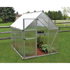 6' x 8' Mythos Twin Wall Greenhouse