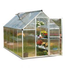 6' x 10' Mythos Twin Wall Greenhouse