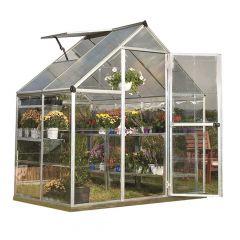 6' x 8' Hybrid Greenhouse
