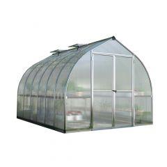 Bella Greenhouse 8' x 12' Aluminum Frame - 10 mm Panels