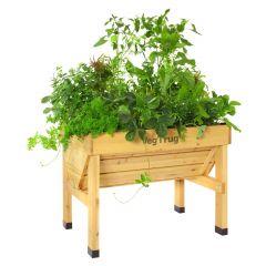 """Vegtrug Raised Planter - Cedar 41""""W x 32""""H x 30""""D"""