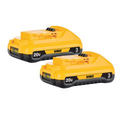 Dewalt 20V Max Lithium Ion Compact 3.0ah Battery-2/Pack