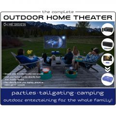Complete Outdoor Home Theatre