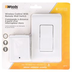 Indoor Remote Control Wall Plate Timer
