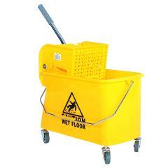 Sidepress Bucket And Wringer Yellow 21 Quart