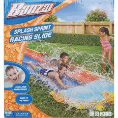 2 Lane Racing Water Slide