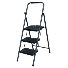 Steel Folding 3-Step Ladder