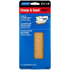"3-2/3"" x 9"" Multisand Sheet 100 Grit-6/Pack"