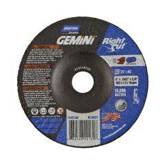 "4"" x .045"" x 5/8 Depressed Center Metal-Gemini Cut-Off Blade"