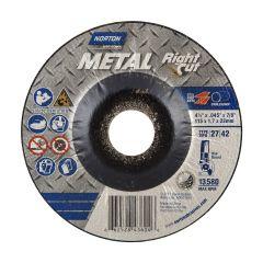 "4-1/2"" x .045"" x 7/8"" Depressed Center Metal Cut-Off Blade"