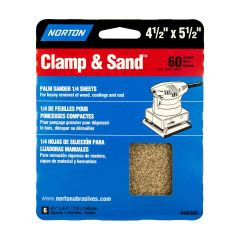 "4-1/2"" x 5-1/2""Multisand Sheet 60 Grit-6/Pack"