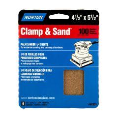 "4-1/2"" x 5-1/2""Multisand Sheet 100 Grit-6/Pack"