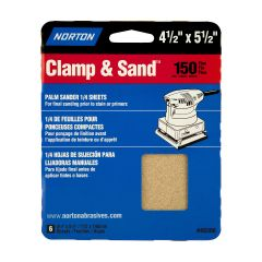 "4-1/2"" x 5-1/2""Multisand Sheet 150 Grit-6/Pack"