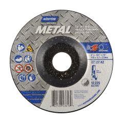 "5"" x 1/8"" x 7/8"" Depressed Centre Metal Wheel"