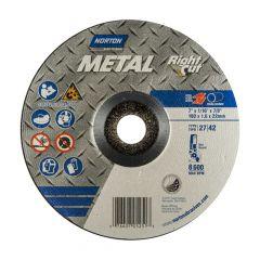 "7"" x 1/16"" x 7/8"" Depressed Centre Metal Cut-Off Blade"
