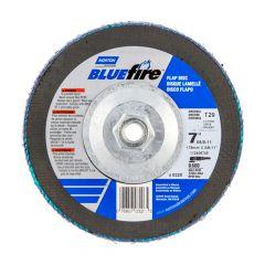 """7"""" x 5/8""""-11 BlueFire Flap Discs 80 Grit"""