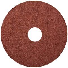 "Resin Fibre Aluminum Oxide Sanding Disc 4-1/2"" x 7/8"" 36 Gri"