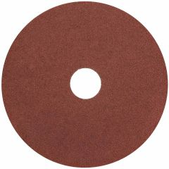"Resin Fibre Aluminum Oxide Sanding Disc 5"" x 7/8"" 24 Grit"