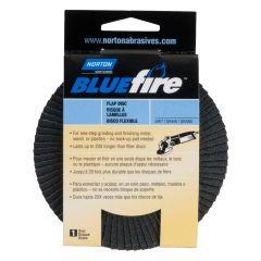 """Norton BlueFire Flap Discs 4-1/2"""" 40 Grit"""