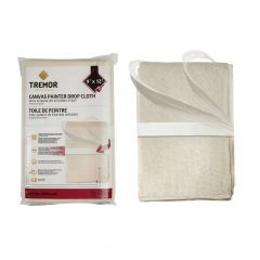Canvas Drop Cloth 9' x 12' with Securing Strap