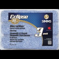 10 mm Eclipse Microfiber Roller-3/Pack