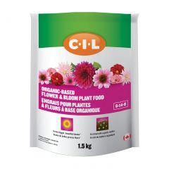 C-I-L Organic Based Flower & Bloom Plant Food 6-14-8 1.5 kg