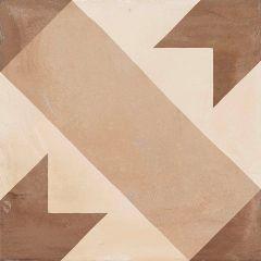 "8"" x 8"" C Corona Terra Tile 13 Sq-ft/Box"