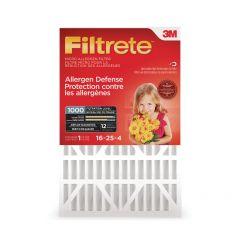 Filtrete Allergen Reduction Filter, 4 inch 16 x 25 x 4